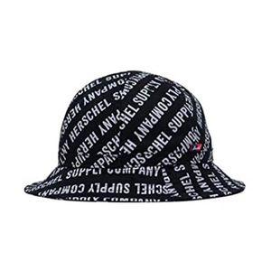 Herschel Cooperman Bucket Hat Roll Call Black